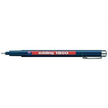 4 x EDDING 1800 PROFIPEN PIGMENT LINER FINELINERS DRAWING PENS  0.1mm to 0.7mm